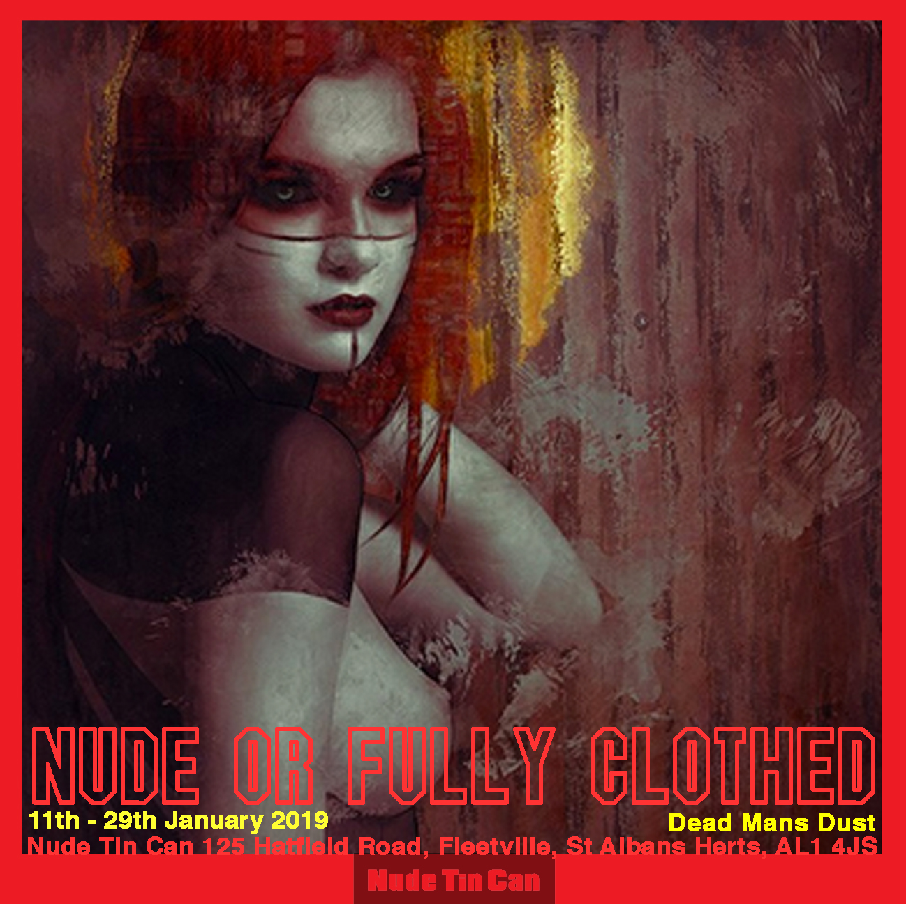 Nude or Fully Clothed Exhibition